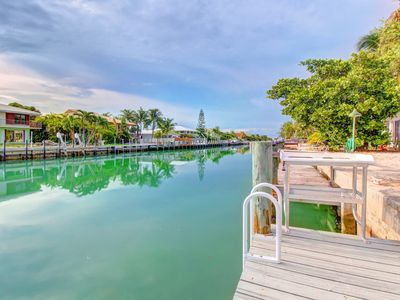 Photo for Dog-friendly half-duplex w/ 30-ft dock - access to shared pool & beach