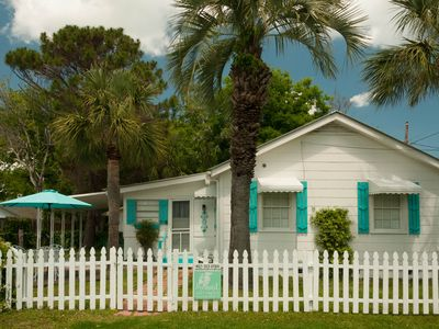 Photo for Sanford's Place! c1930! Vintage Tybee Cottage! Pet-Friendly! Ground level!