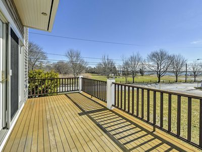 Photo for Marion House w/ Deck & Ocean Views-400 ft to Beach