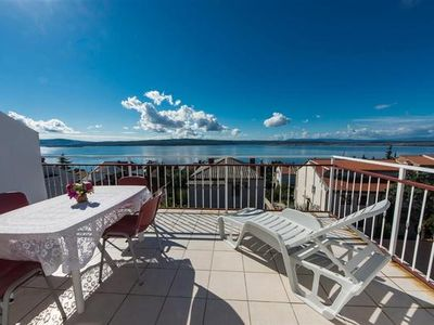Photo for Holiday apartment Dramalj for 6 - 8 persons with 4 bedrooms - Holiday apartment
