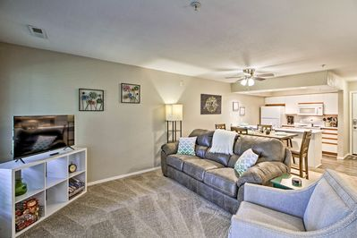 Enjoy the best of Branson from this 2-bedroom, 2-bath vacation rental.