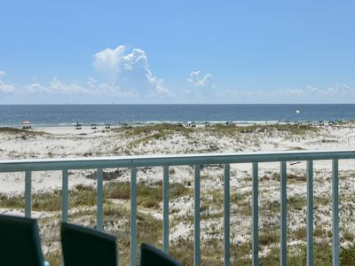 Photo for NEW! Beachfront condo at Plantation Dunes w/balcony, pools/hot tub, gym & sauna