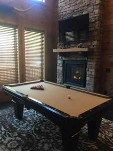 Photo for New Luxury Cabin joining the Ouachita National Forest/Hot Tub/Pool Table
