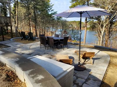 Photo for #621: Waterfront on Lover's Lake w/ Direct Access, New Stone Patio! GAME ROOM!