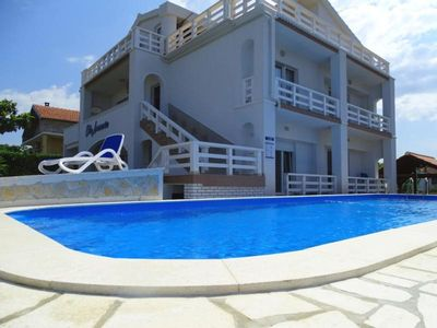 Photo for Holiday house Zadar for 12 - 15 persons with 6 bedrooms - Holiday house