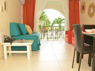 Photo for Deluxe Beachfront 1BR in the heart of Ocho Rios, 24hr Security, WIFI, Pool,Beach