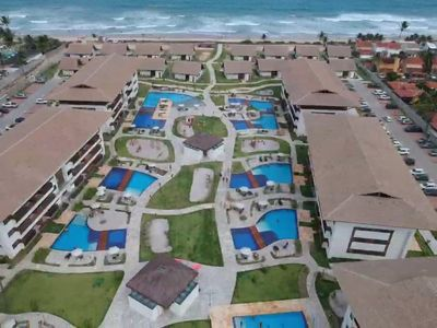 Photo for Flat Beira Mar Porto de Galinhas Cupe Beach Living