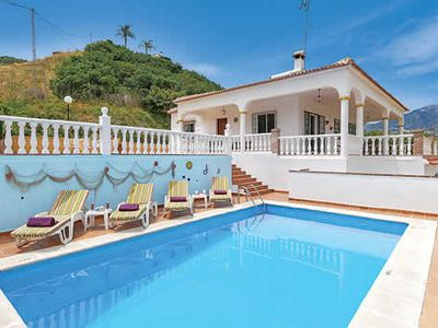 Photo for Spacious villa surrounded by orchards w/ mountain views, BBQ + pool