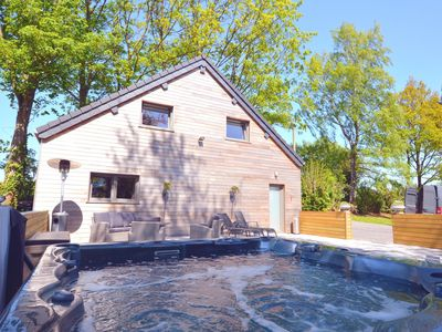 Photo for Cozy Holiday Home in Polleur with Jacuzzi