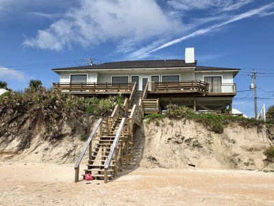 Photo for 15% off remaining Sept-Dec dates!  Stunning  4 bedroom House on Private Beach!!
