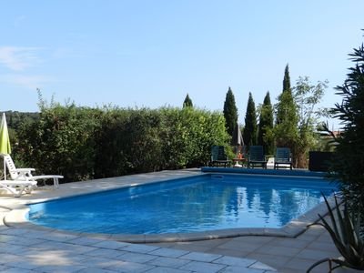 Photo for Southern France stunner. Large 6 bedroom Villa with pool in a superb location.
