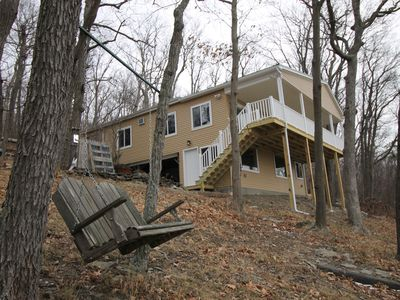 Photo for Newly Remodeled, Cottage with over 100' Lakefront and Seneca Lake Sunset Views!
