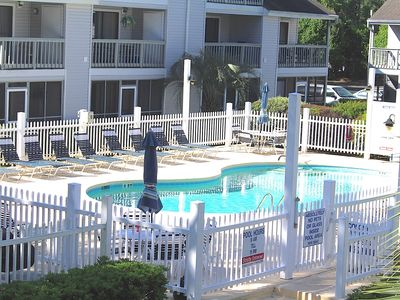 Photo for Golf Colony-Large and Comfortable 2 Bedroom Condo Near the Beach! 28J