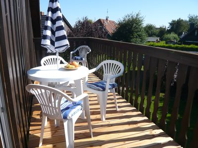Photo for BEACH-NEAR * QUIET TOP LOCATION * MODERN * BEAUTIFUL BALCONY * UP TO 4 PEOPLE * ALLERGIKERGEEIGNE