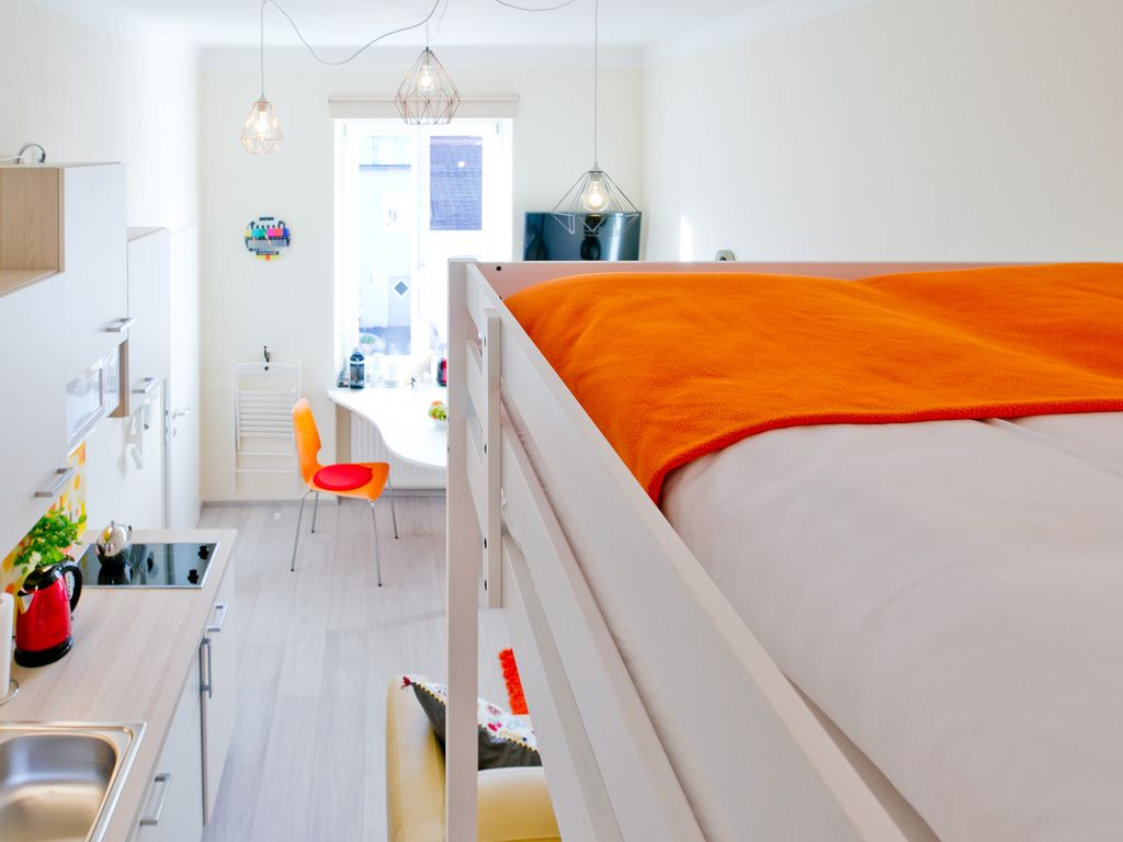 Studio Apartment With Loft Bed And Sofa Bed Salzburg