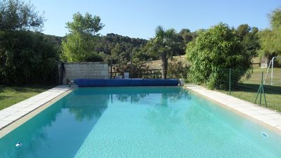 Photo for Magnificent Bastide on Aix en Provence, large swimming pool with secure overflow