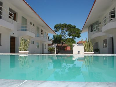 Photo for Aptos of 1 and 2 bedrooms furnished 900 mts from the sea, BEACH OF TAPERAPUA.