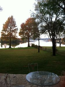 This really captues how peaceful and beautiful it is here at the lake.