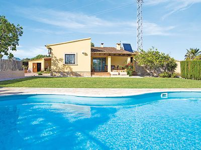 Photo for Bright country Villa close to Puerto Pollensa w/pool, free a/c, and BBQ