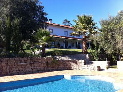 Photo for Villa With Private Pool And Mountain Views In Penela, Near Coimbra, Silver Coast