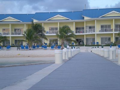Photo for Borders Open 9/1 Beach Front 2 bdrm/2 bath Villa Cast Away Cove Resort 1st Floor