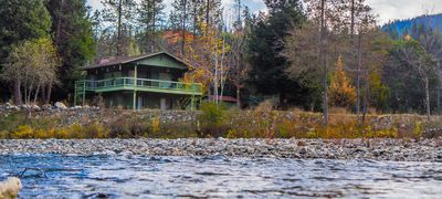 Photo for RiverView Cabin steps from the Trinity River and 10-minutes from Weaverville