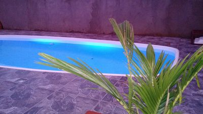 Photo for Beautiful house in Maranduba with pool, 4 bedrooms, 1 suite, 4 places, pool table.