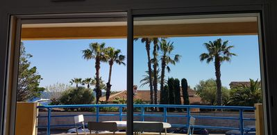 Photo for Apartment sea view Les Issambres / Gulf St-Tropez