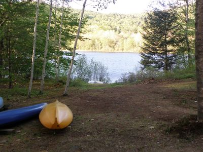 Photo for Waterfront Cabin On Quiet, Pretty Pond