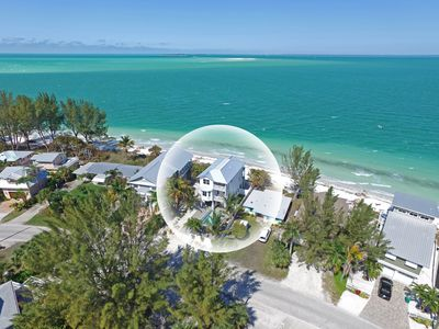 Photo for Beach Front/Heated Pool/Elevator to all floors/Golf Cart/Bikes/SUP/Kayak/BBQ