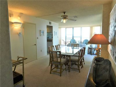 Photo for Ocean front end unit condo with wrap around balcony. Sea Colony. - Dover 410