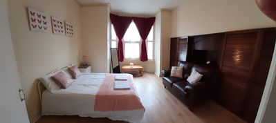 Photo for One bed flat in listed Georgian building