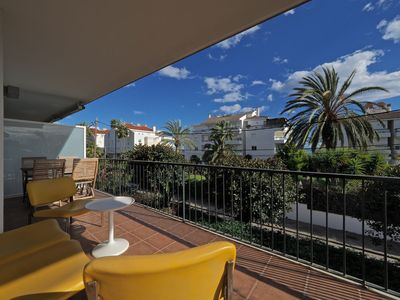 Photo for Apartment 197 m from the center of Sitges with Internet, Air conditioning, Lift, Terrace (917596)