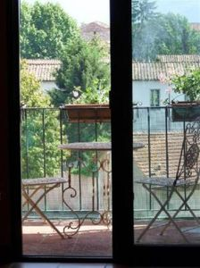 Photo for Design  flat  in the historical centre of Lucca, terrace with beautiful sight