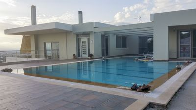 Photo for 'Aelia' Luxurious villa with pool,close to the sea