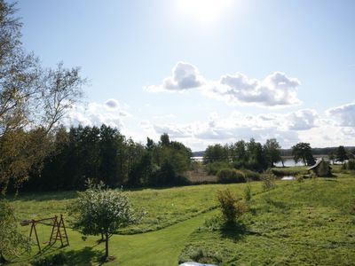 Photo for Countryside homestead on the shore of one of largest lakes in Lithuania