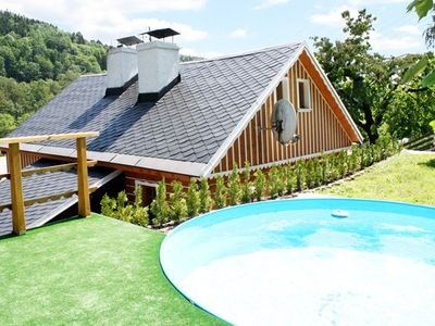Photo for Holiday house with sauna and outdoor swimming pool