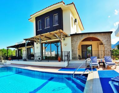 Photo for ♡ Seclusive Mediterranean 3 bedroom charming villa with scenic views ♡