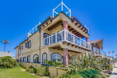 3 levels of ocean views, great neighbors, lots of room to entertain and relax.