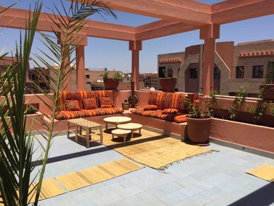 Photo for 1BR Apartment Vacation Rental in Gueliz, Marrakesh-Safi