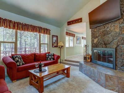 Photo for Sunriver Home - Close to Village & Hiking/ Biking Trails, Private Hot Tub, Bikes, Large Game Room