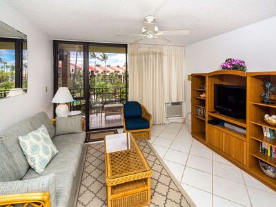 Photo for Roomy West Maui Suite w/Cool Tile Floors, WiFi, Full Kitchen–Kamaole Sands 3205