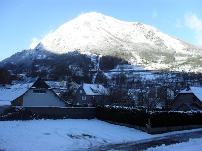 Photo for rental in the village of Saint-Lary Soulan mountain views
