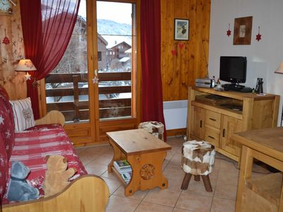 Photo for HAMEAU DES NEIGES - 2 rooms cabin - Capacity 4 people