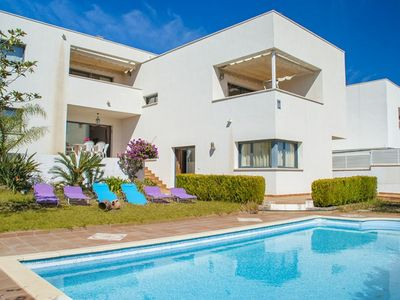 Photo for Club Villamar - Modern minimalist style house with beautiful private pool with waterfall and jacuzzi to enjoy wonderful holiday