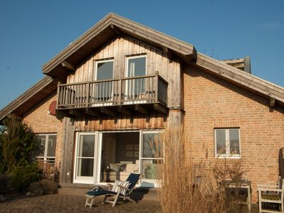 Photo for Exclusive holiday home, on foot to the beach, quiet with views of the nature reserve