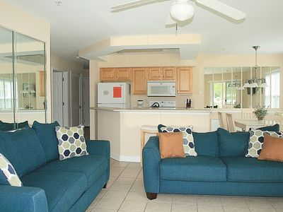 Photo for Family Friendly 2 bedroom, 2 bath, Full Kitchen with great resort amenities(2304)