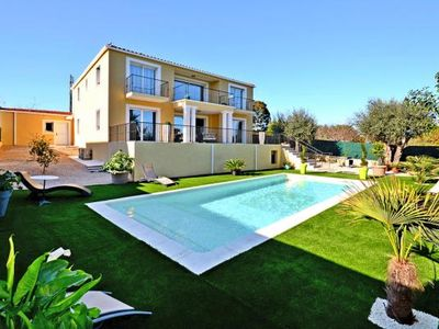 Photo for Villa, Villeneuve-Loubet  in Alpes - Maritimes - 8 persons, 4 bedrooms