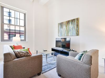 Photo for Beautiful 1BR | Full Kitchen | Near Tufts | Downtown | by GLS