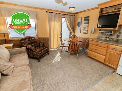 Photo for ML358 1BR/1BA Mountain View - Next to Village - FREE Wi-Fi and Parking
